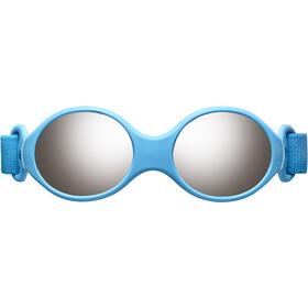 Julbo Loop S Spectron 4 Zonnebril Kinderen, blue turquoise/light blue/grey flash silver